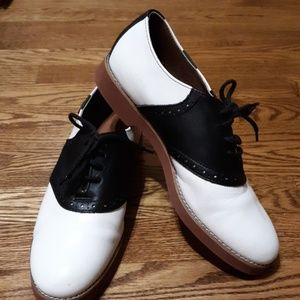 Bass Saddle Oxfords